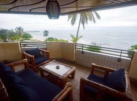 Le paradis bleu, apartment in Libreville