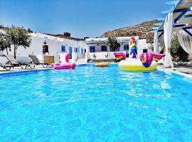Family Village Santorini, villa in Vlychada Beach