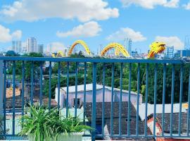 Sena home 4th-Terrace Overlooking Danang Dragon bridge, homestay in Da Nang