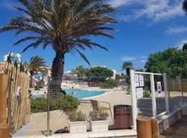 MAR ESTANG 4* MOBIL HOME 4/6 PLACES, campground in Canet-en-Roussillon
