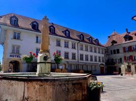 SWISS HOTEL LA COURONNE, Hotel in der Nähe von: Forum Fribourg, Avenches