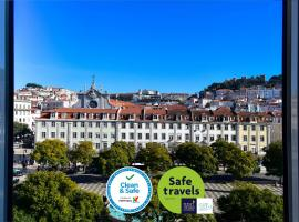 My Story Hotel Rossio, hotel in Lissabon