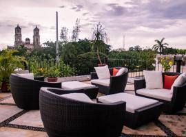 Hotel Meson del Marques, отель в городе Вальядолид