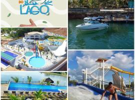 RESORT DO LAGO Apto 2Q TOP CALDAS, hotel in Caldas Novas