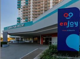 Apartamento em Resort de Olimpia, hotel em Olímpia