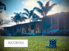 Recanto RICOROSA, hotel with jacuzzis in Visconde De Maua