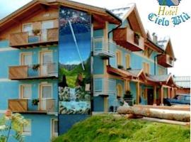 Hotel Cielo Blu (B&B), отель в Пассо-дель-Тонале