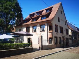 Hotel Wistub Aux Mines d'Argents - Room Service Disponible, hotel near Le Haut Koenigsbourg, Sainte-Marie-aux-Mines