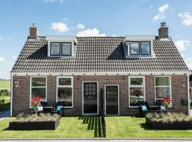 Vakantiewoning Oer it fjild, holiday home in Holwerd