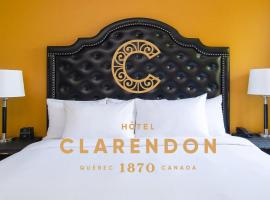 Hotel Clarendon, hotel near Old Quebec/Vieux Quebec, Quebec City