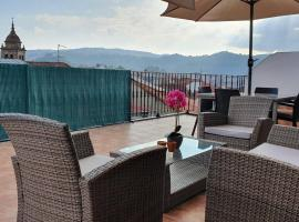Apartamento con terraza en el casco historico, apartamento en Ourense