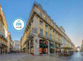Hotel Duas Nações, hotel near Carmo Fountain, Lisbon