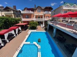 Villa Lubomir, pet-friendly hotel in Vityazevo