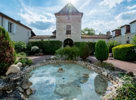 Logis Hotel Le Prince Noir、Sérignac-sur-Garonneのホテル