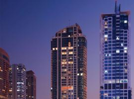 Mövenpick Hotel Jumeirah Lakes Towers Dubai, hotel near Al Maktoum International Airport - DWC, Dubai