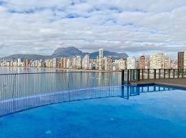 Precioso piso con unas vistas increíbles, hotel con jacuzzi en Benidorm