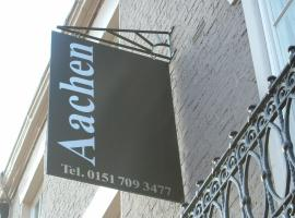 Aachen Hotel, hotel near Williamson's Tunnels, Liverpool
