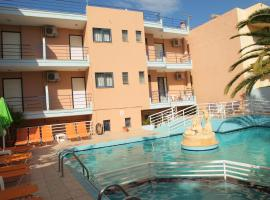 Emilia Hotel Apartments, pet-friendly hotel in Rethymno Town