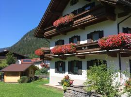 Pension Eberharter, Ferienwohnung in Mayrhofen