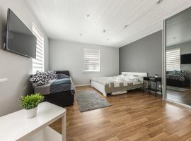 Privāta brīvdienu naktsmītne Strautu Lux Apartment Liepājā
