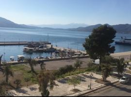 Tsirigotis Standard SeA View, hotel in Loutra Edipsou