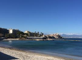 Cap Soleil, pet-friendly hotel in Antibes