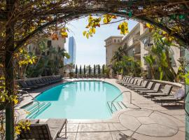 Downtown LA Stylish, serviced apartment in Los Angeles