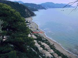 Corfu Glyfada Menigos Beach Apartments, pet-friendly hotel in Glyfada
