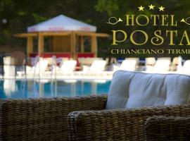 HOTEL POSTA Dépendance、キアンチャーノ・テルメのホテル