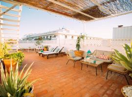 Ático con terraza en el centro de Sevilla, hotel conveniente a Siviglia