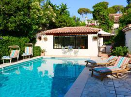 CAP ANTIBES Maisonette avec Piscine privative, pet-friendly hotel in Antibes