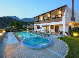 Anthos Apartments, hotel with pools in Plakias