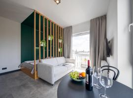 TOP Garden Aparthotel, serviced apartment in Toruń