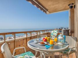 Aloha Amazing Sea Views at Carihuela, appartement in Torremolinos