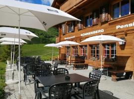 Restaurant-Hotel Sonnenberg, hotel near Mürrenbahn, Mürren
