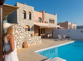 Villas Delight, family hotel in Sitia