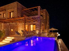 Athinais villa, hotel with pools in Palaiochóra