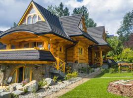 Przystań w Tatrach - Przytulne Domki i Apartamenty-Luxury Chalets and Apartments, hotel in Bukowina Tatrzańska