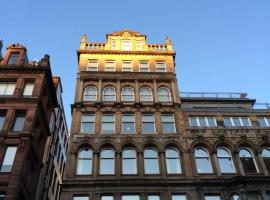 Stunning city centre location 3 bed 3 bath serviced apartment available daily weekly monthly, apartment in Glasgow