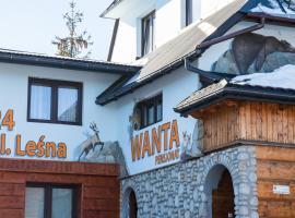 Wanta, hotel in Bukowina Tatrzańska