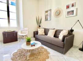La piètonne, apartment in Menton