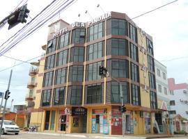 Hotel Guapindaia Bosque, отель в городе Риу-Бранку
