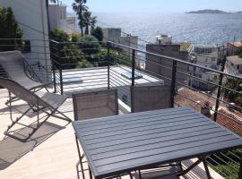 Suite sur la mer Marseille Corniche, location de vacances à Marseille