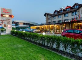 Hotel Restaurant Alesia, hotel in Corunca