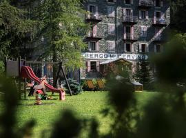 Albergo Monte Cervino, Hotel in der Nähe von: Seilbahn Frachey - Alpe Ciarcerio, Champoluc