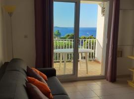 Studio cabine Thalacap Vue mer, hotel in Banyuls-sur-Mer