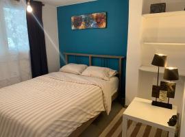 Logement cosy proche Paris et Disneyland, hôtel à Villiers-sur-Marne