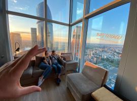 Самый высокий отель в Европе с лучшим видом на Москву - Say Wow Capsule Hotel, hotel in Moscow