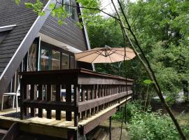 Chalet 140 - Sunclass Durbuy Vakantiepark, cabin in Durbuy