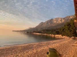Villa Amalia, beach hotel in Gradac
